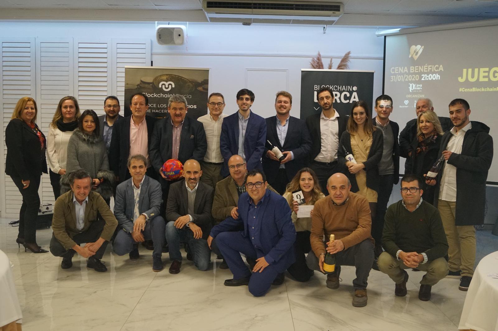 Cena benéfica Blockchain Región de Murcia 2020